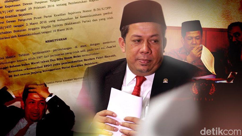 Panas Hak Angket KPK, Babak Baru Perseteruan Fahri Hamzah-PKS