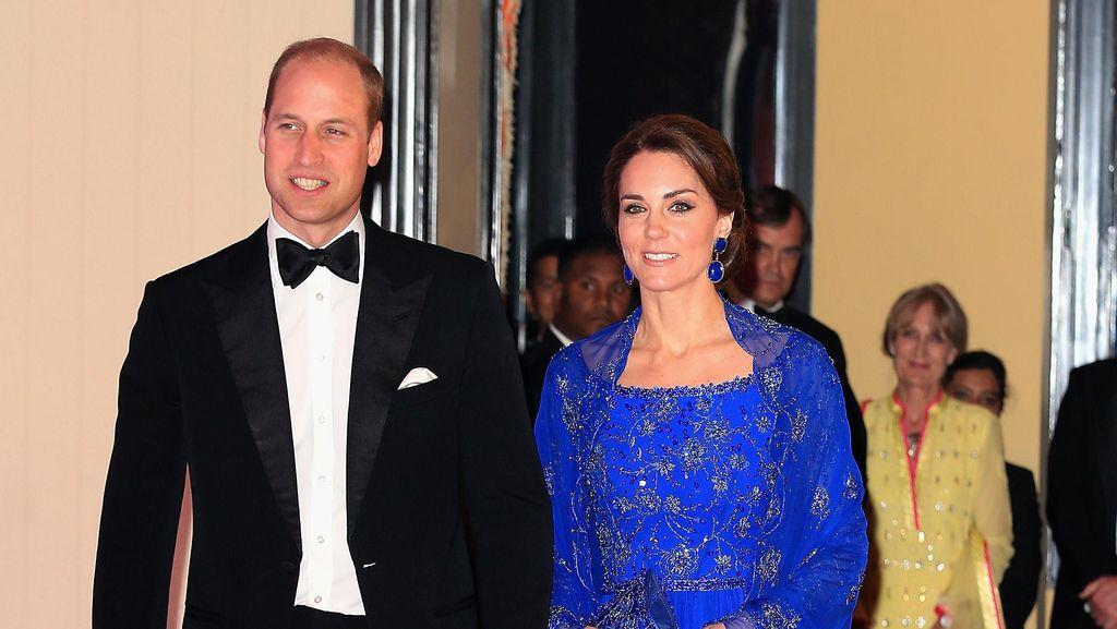 Pesta dengan Shah Rukh Khan, Kate Middleton Pakai Anting Rp 46 Juta