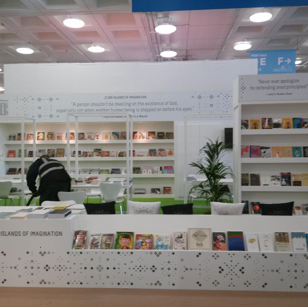 200 Judul Buku Diboyong ke London Book Fair 2017