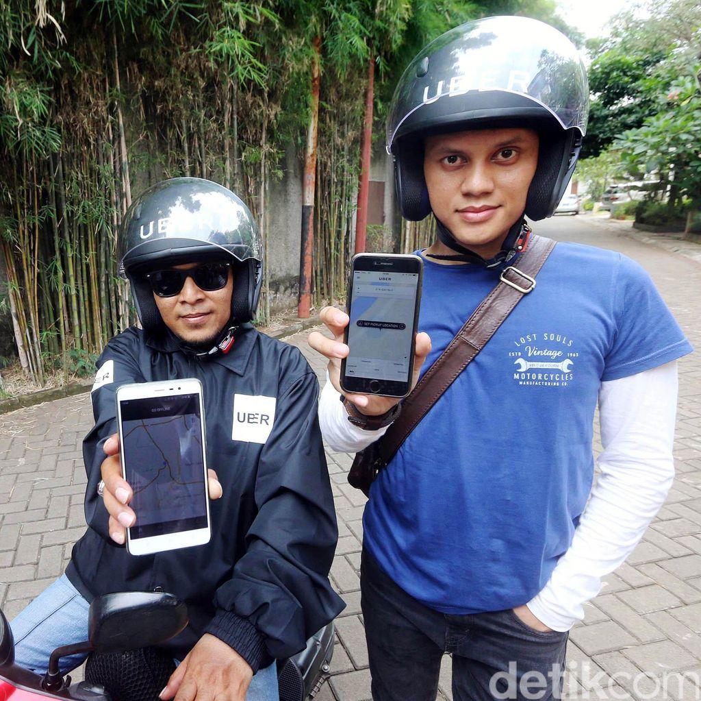 Pesan Uber Kini Juga Bisa Lewat Bangjoni