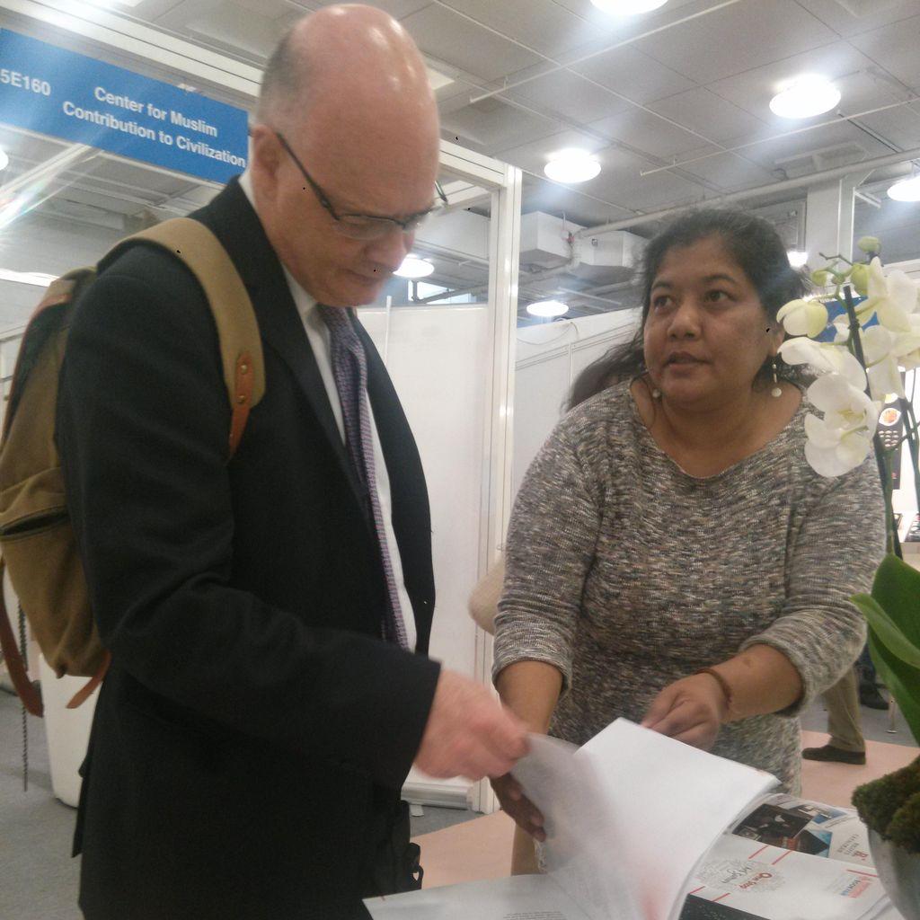Hadir di LBF 2017, Percepat Penjualan Hak Penerbitan Buku Indonesia