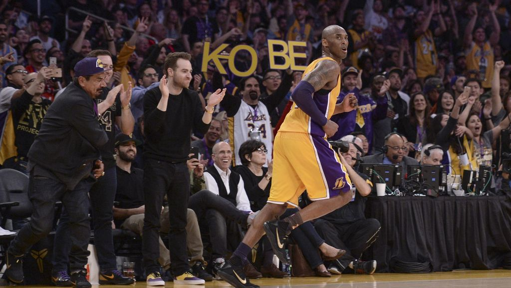 #MambaDay Akhiri 20 Tahun Karir NBA Kobe