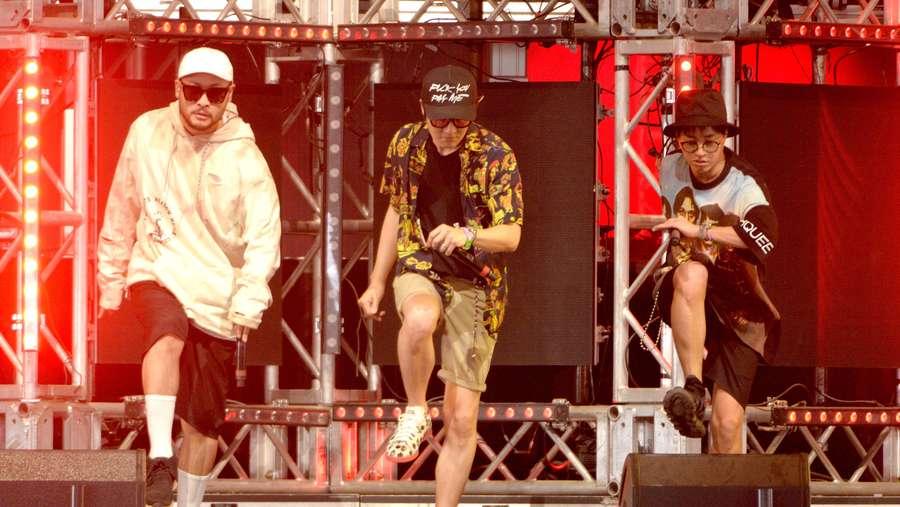 Aksi Epik High Meriahkan Coachella 2016