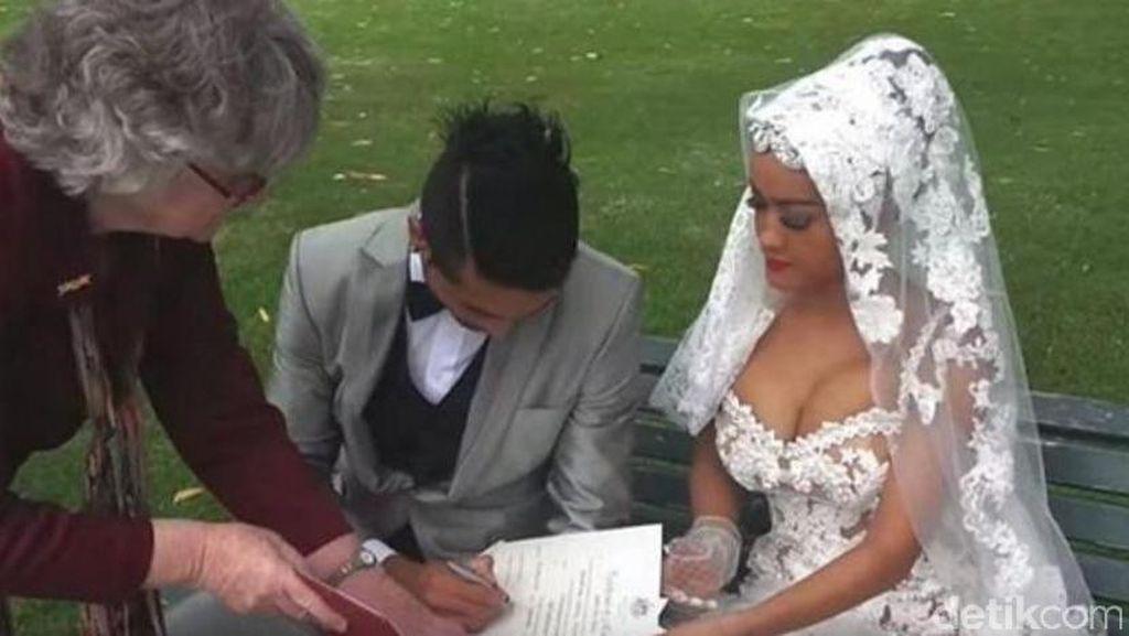 Heboh Video Prilly Hina Keluarga Aliando, Ini Foto Pernikahan Jupe-Gaston