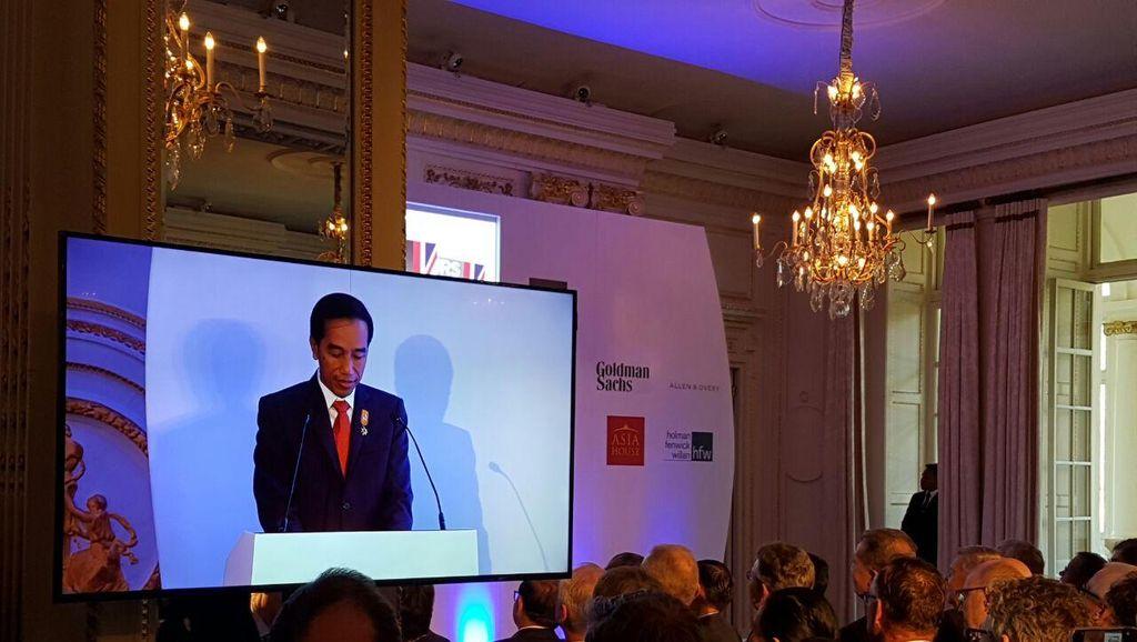 Jokowi ke Pengusaha Inggris: Keep Calm and Invest in Indonesia