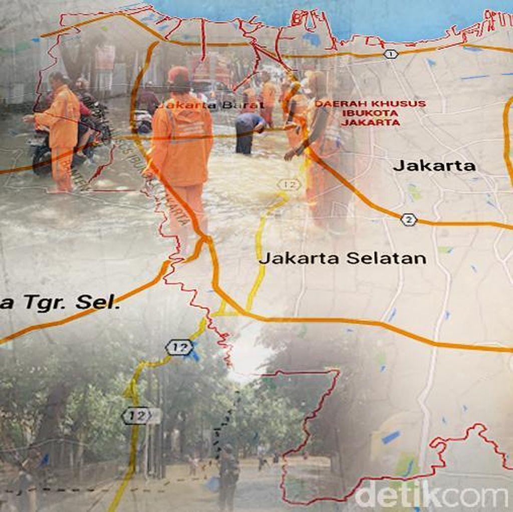 Waspada Banjir Jakarta, Kali Karet Siaga 1