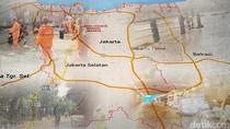 Imbas Hujan Deras, Ini Titik Lokasi Genangan di Jakarta