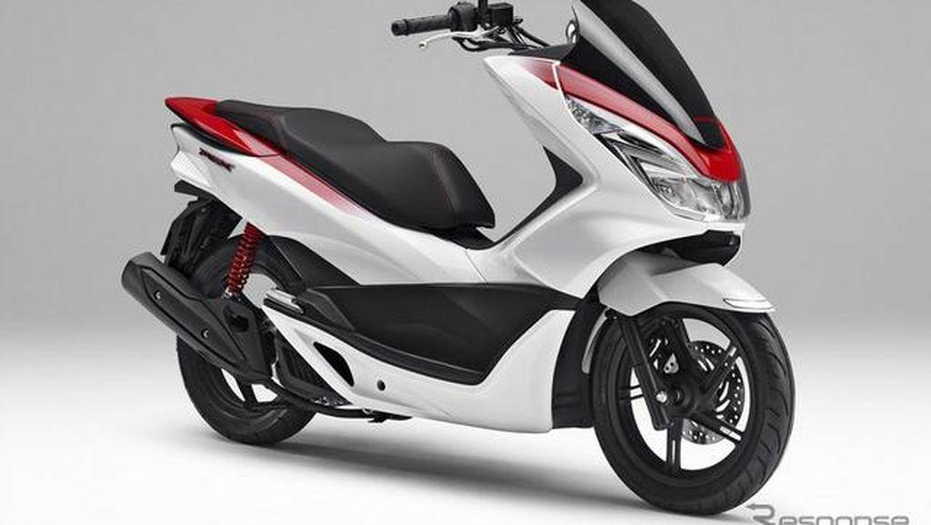 Warna Spesial Honda PCX, Kian Jantan