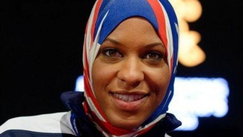 Ikut Olimpiade, Atlet Berhijab Ini Khawatir Pulang ke AS karena Islamophobia