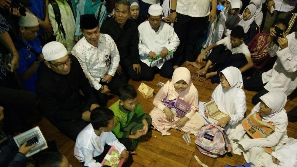 Jumlah Masjid Magrib Mengaji Bertambah, Anggaran Guru Ngaji akan Naik