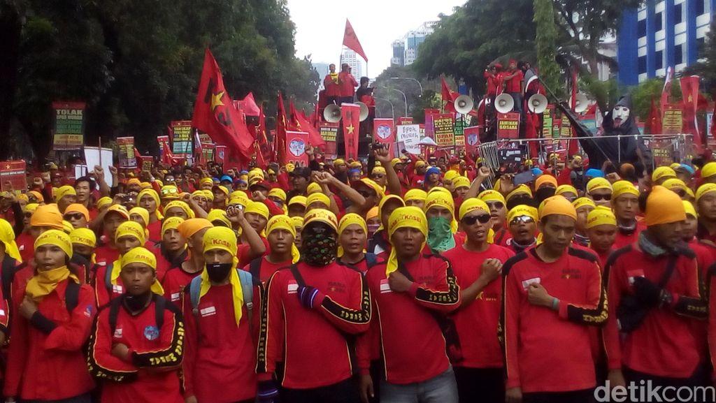 Imbau Aksi May Day Kondusif, Ini Tahap Tindakan Polisi Jika Ricuh