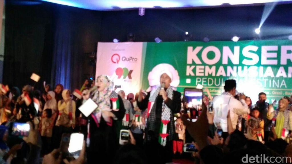 Opick dan Melly Goeslaw Gelar Konser Kemanusiaan untuk Bantu Rakyat Palestina