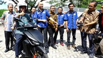 Menristek Laporkan Hasil Riset Motor Listrik ke Presiden Jokowi