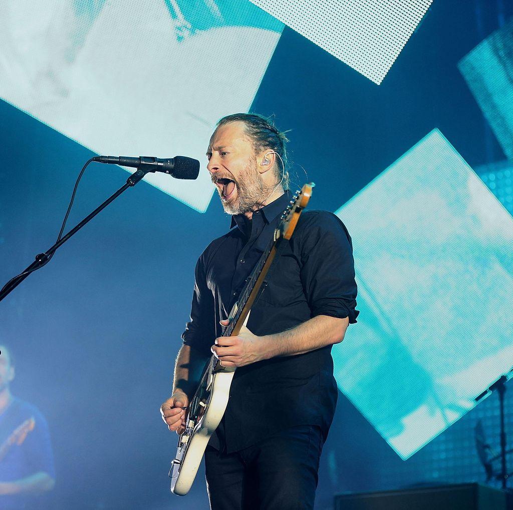 Atas Nama Kemanusiaan, Radiohead Diimbau Batalkan Konser di Israel