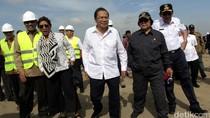 3 Menteri dan Ahok Tinjau Pulau Reklamasi
