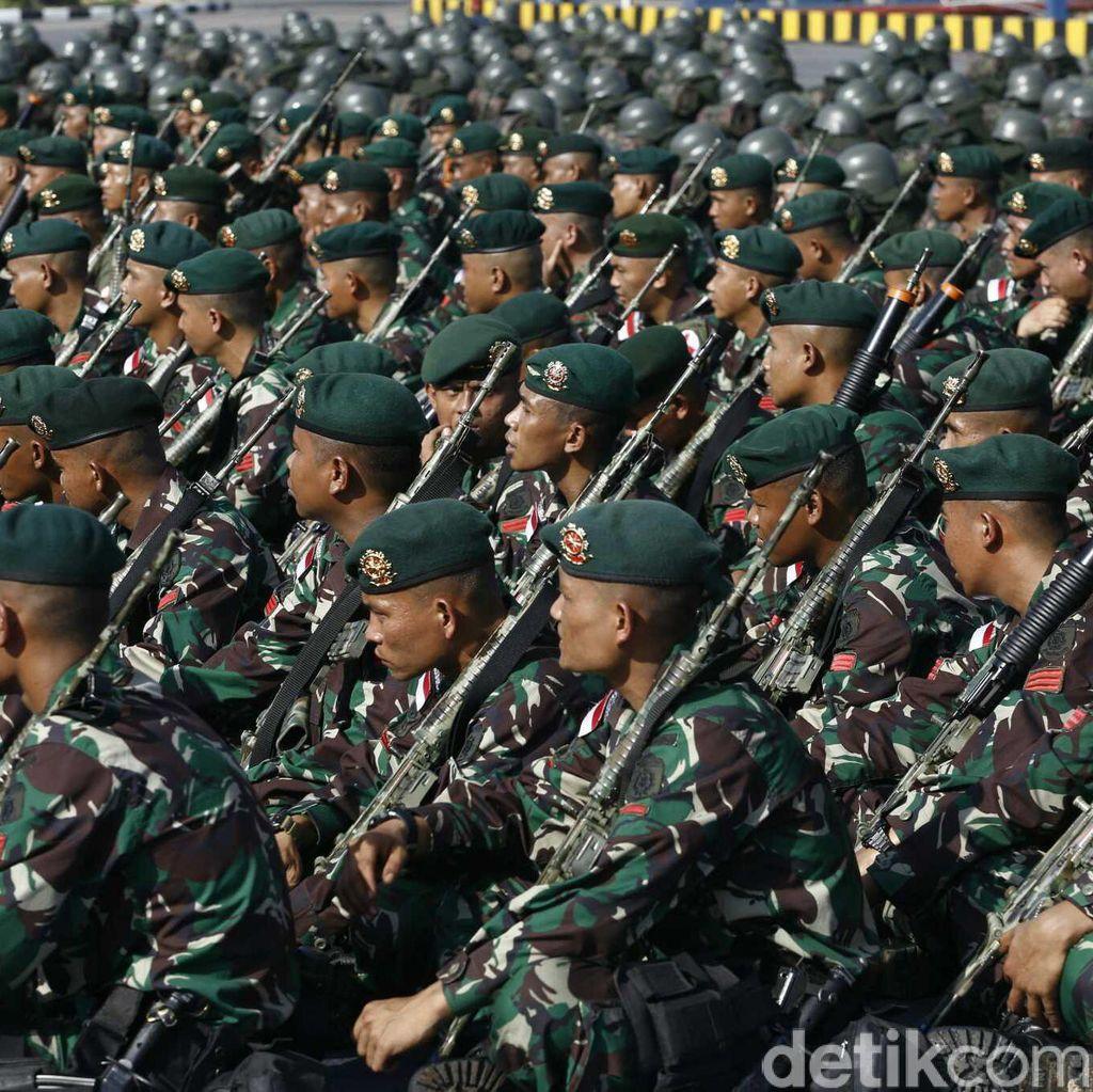 Uang Lauk Naik Jadi Rp 60 Ribu, TNI: Ini Suplemen Moril Prajurit