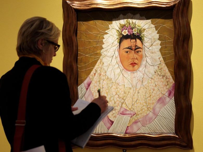 Meksiko Pamerkan Karya tentang Kehidupan Seniman Nyentrik Frida Kahlo