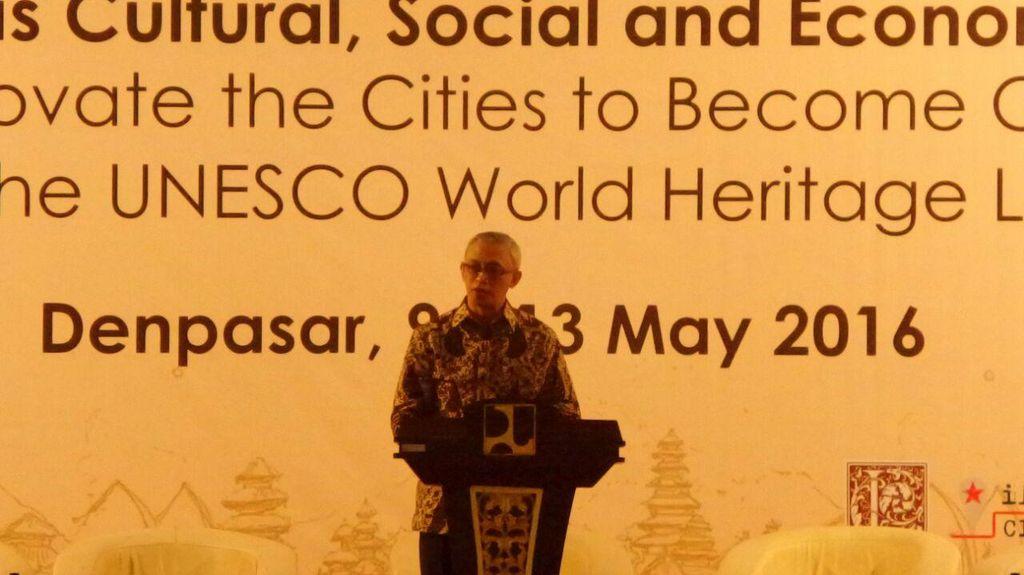 Perencana Kota Kelas Dunia Kumpul di Bali Bahas Kota Bersejarah di RI