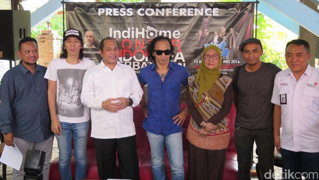Slank Antusias Bakal Manggung di Perbatasan Indonesia