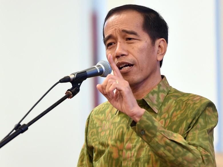 Jokowi: Segera Belanjakan APBD, Jangan Disimpan di Bank!