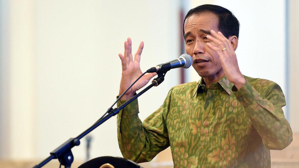 Peringatan Jokowi ke Menteri Hingga Gubernur Soal Nyusun Anggaran