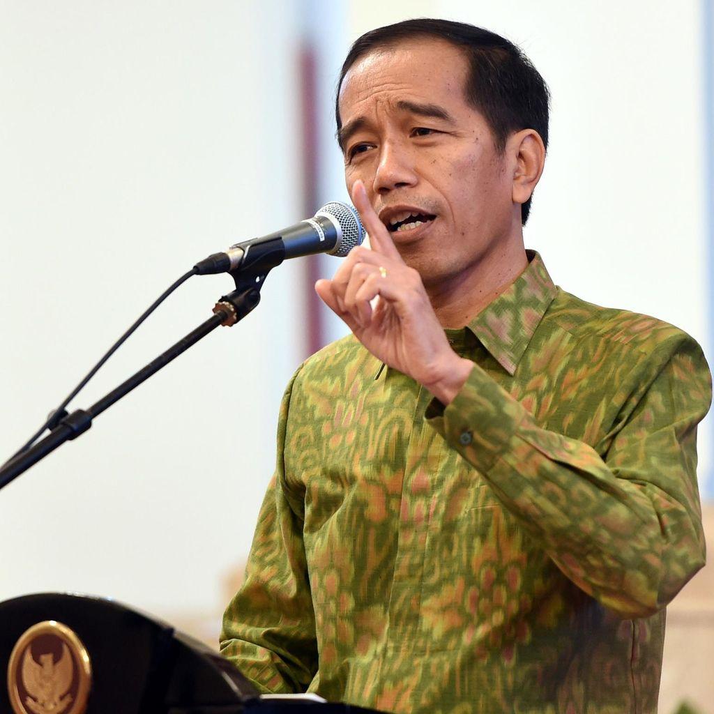 Jokowi dan Para Gubernur Bahas Rencana Pembangunan 2017