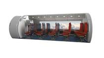 Penampakan Hyperloop, Kereta yang Lebih Cepat dari Pesawat