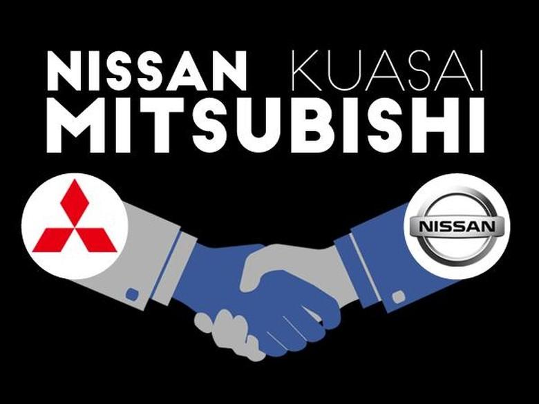 Renault Bakal Jual Mobil dengan Emblem Mitsubishi?