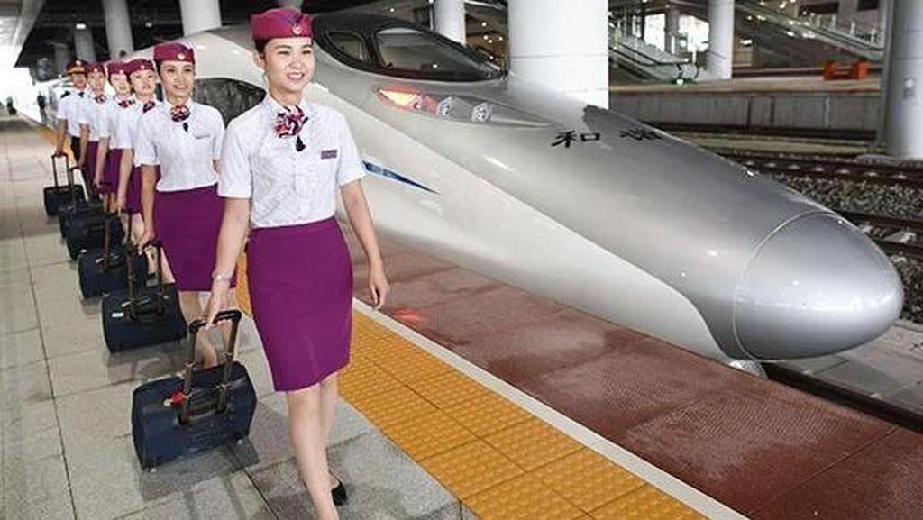 China Batal Bangun Kereta Cepat di Las Vegas
