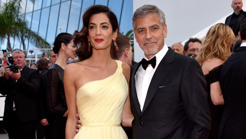 Cerita George Clooney Jadi Ayah Pertama Kali di Usia 56