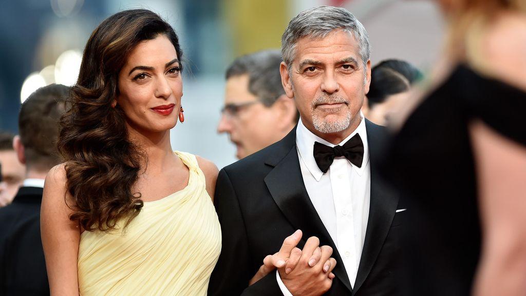 Bayi George Clooney Kembar Tapi Beda Jenis Kelamin, Kok Bisa Ya?