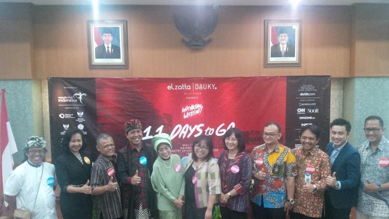 Foto: Berbagai perwakilan yang terlibat dalam Indonesian Weekend (Fitraya/detikTravel)