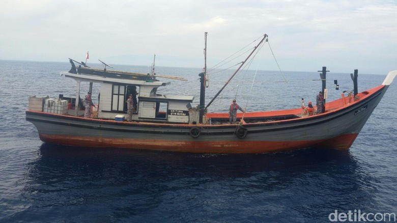 Bakamla Tangkap Kapal Berbendera Thailand dan Malaysia di Selat Malaka