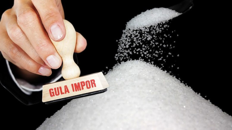 RI Impor 381.000 Ton Gula Mentah, Baru Terealisasi 114.000 Ton