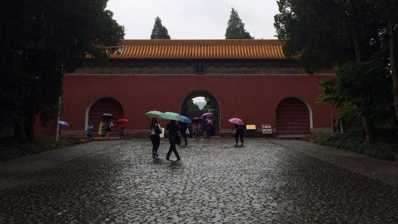 Foto: Ming Xiaoling Mausoleum di Nanjing (Rizal/detikTravel)