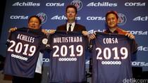 Achilles-Corsa Ban Sponsori PSG