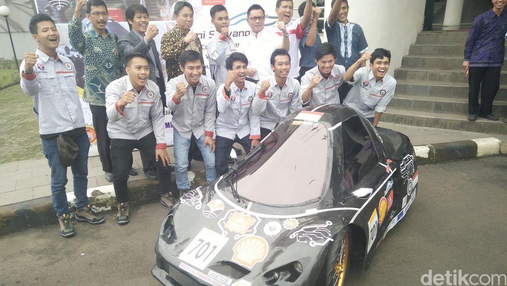 Ingin Juara Mobil Tercepat di London, Begini Persiapan Mahasiswa UPI Bandung