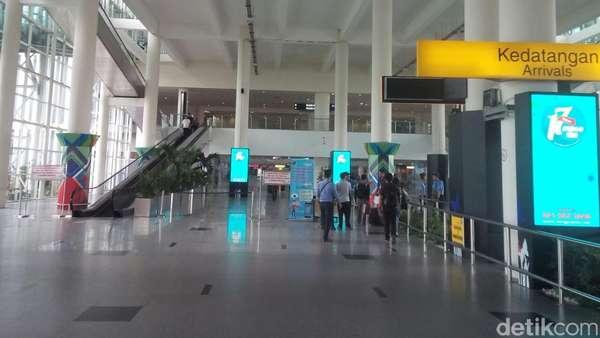 H-2 Lebaran, Pemudik Padati Bandara Kualanamu