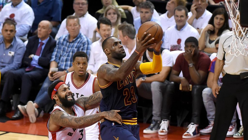 Cavs Maju ke Final NBA Usai Singkirkan Raptors