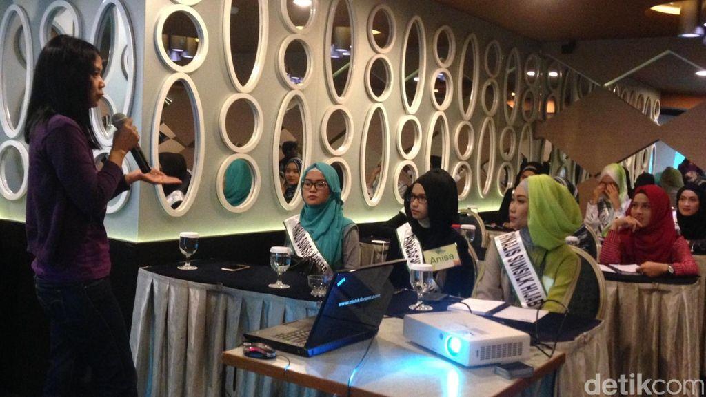 Hari ke-8 Karantina, Finalis Sunsilk Hijab Hunt 2016 Belajar Jadi Blogger