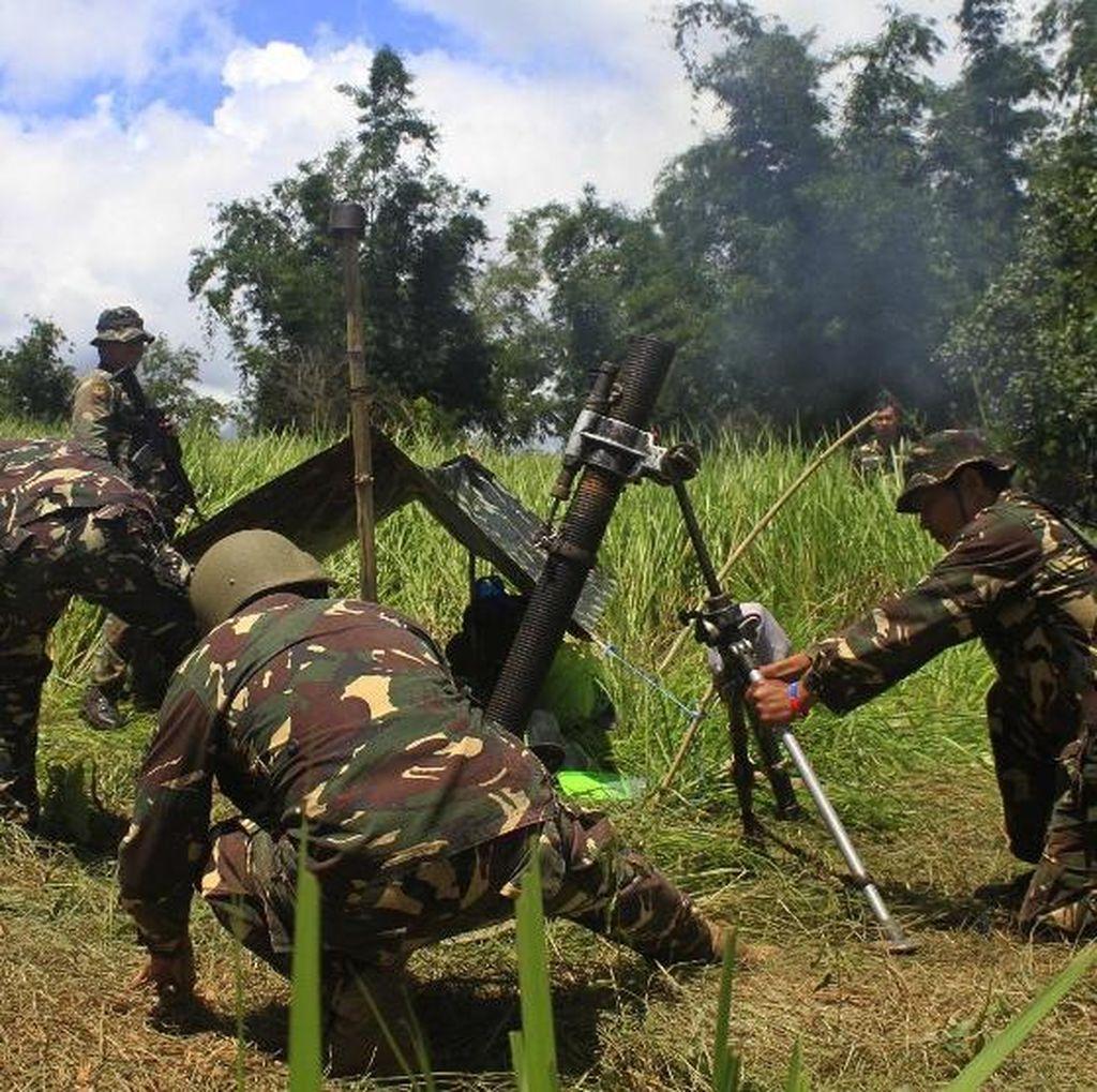 Militer Filipina Serang Tempat Persembunyian ISIS di Marawi