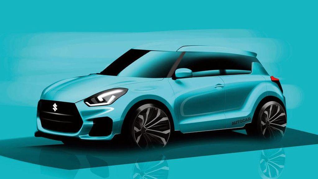 September, Suzuki Luncurkan Swift Sport Terbaru
