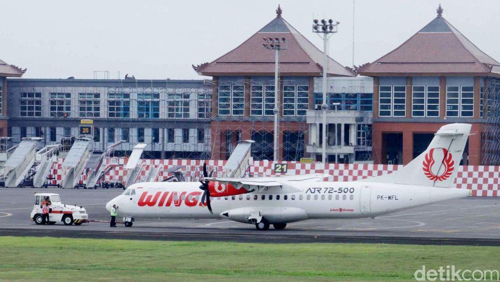Wings Air Pecah Ban Saat Mendarat di Lampung, Penumpang Selamat
