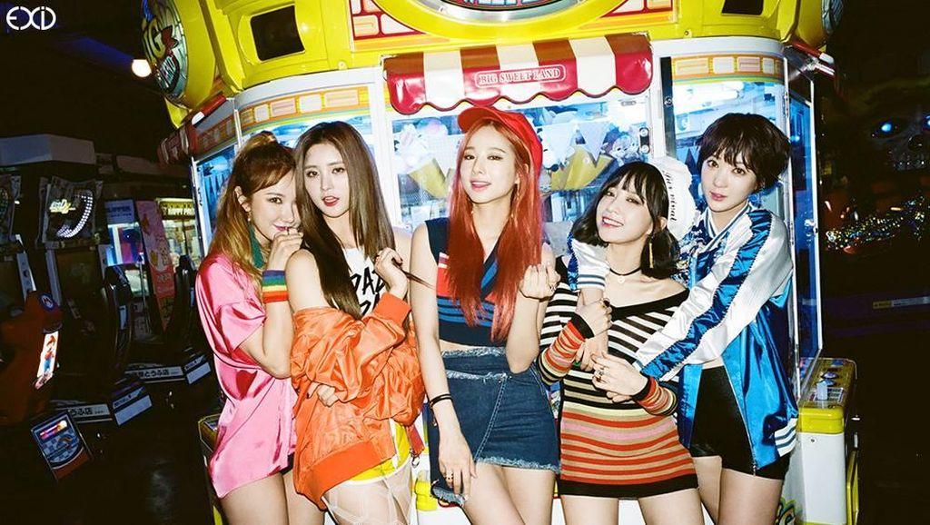Daebak! Tiket Mini Konser EXID Ludes dalam 40 Detik