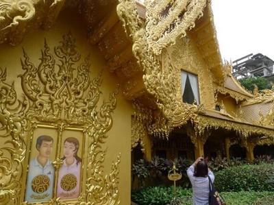 Unik! Toilet Berlapis Emas di Thailand