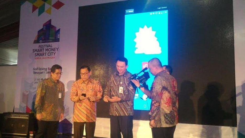 Ahok dan Agus Marto Resmikan Kartu Jakarta One dan Aplikasi Pangan Jakarta