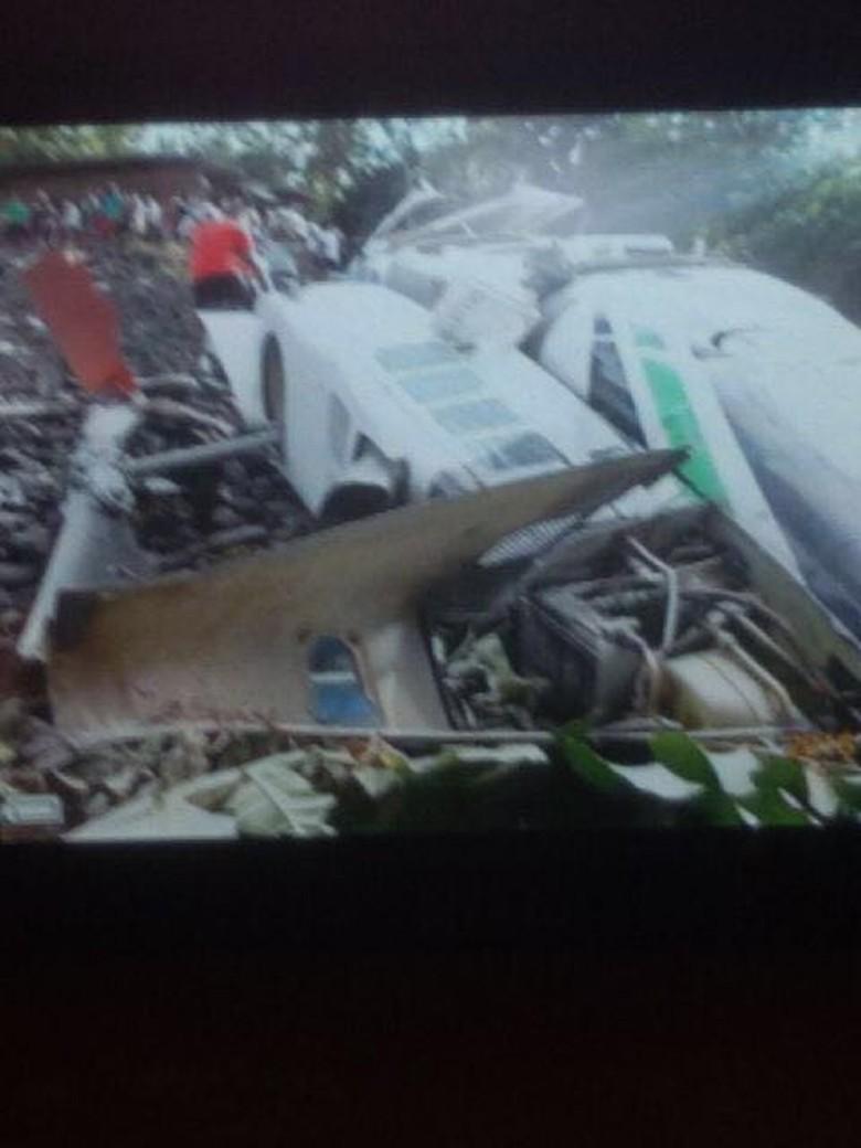Helikopter Bell Jatuh di Nabire, Pilot dan 3 Penumpang Tewas