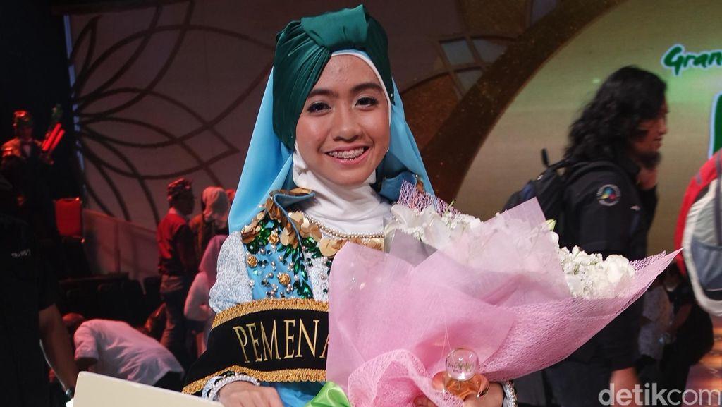 Denta Haritsa Tak Pernah Bermimpi Jadi Juara Pertama Sunsilk Hijab Hunt 2016