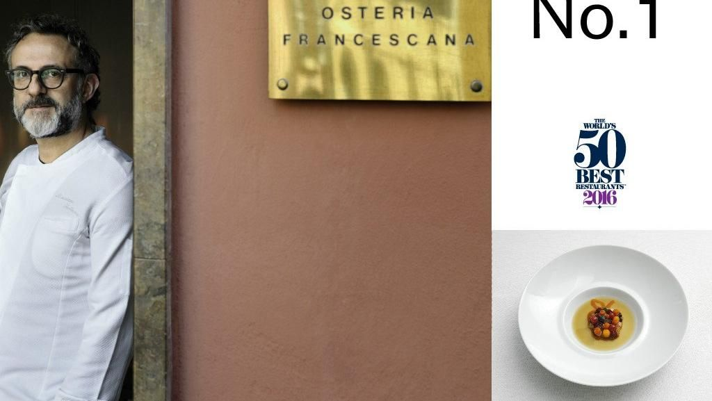 Osteria Francescana Duduki Peringkat 1 Daftar Worlds 50 Best Restaurants