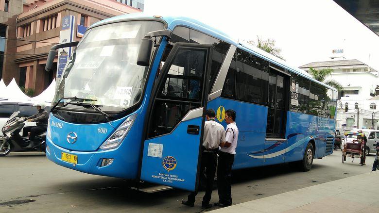Jadwal Keberangkatan Bus Damri Kota Padang - BIM 2017
